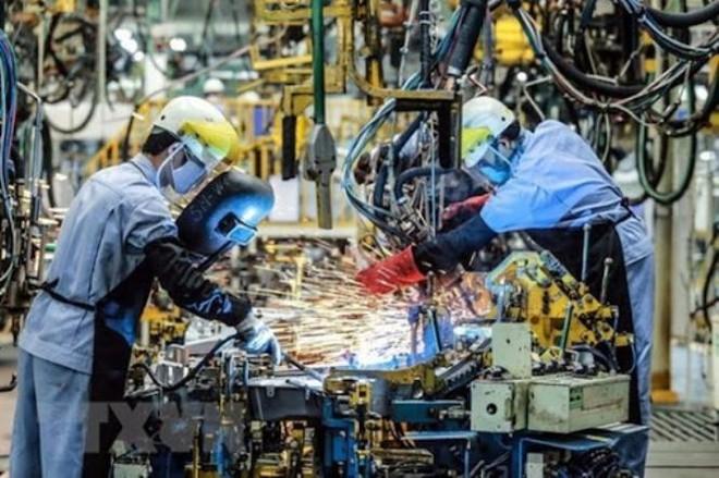 Sản xuất công nghiệp giảm mạnh do Covid-19 ảnh 1