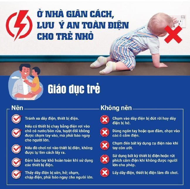 Sau vụ cháu bé tử vong khi học trực tuyến: Ngành điện khuyến cáo an toàn ảnh 1