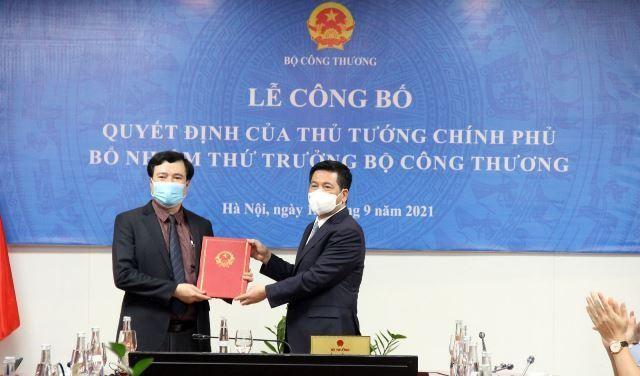 Thứ trưởng Nguyễn Sinh Nhật Tân phụ trách lĩnh vực gì ở Bộ Công Thương? ảnh 1
