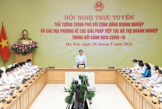 Thủ tướng đối thoại, tháo gỡ khó khăn cho doanh nghiệp ảnh 1