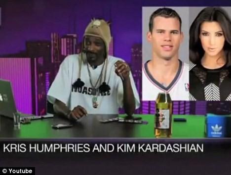 """Snoop Dogg gọi Kim Kardashian là """"đồ máu lạnh"""""""