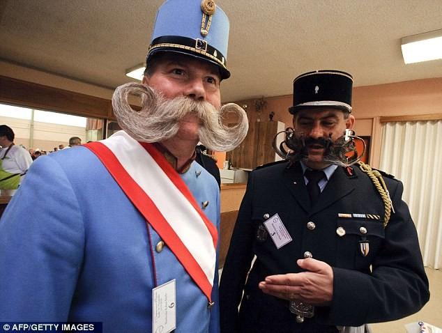 Giải vô địch dành cho những bộ râu ria kỳ lạ ảnh 8
