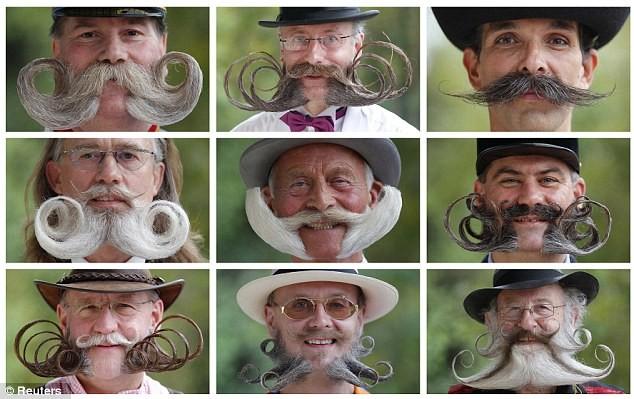 Giải vô địch dành cho những bộ râu ria kỳ lạ ảnh 5