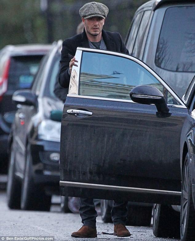 """David Beckham tìm được """"bến đỗ"""" mới ảnh 1"""