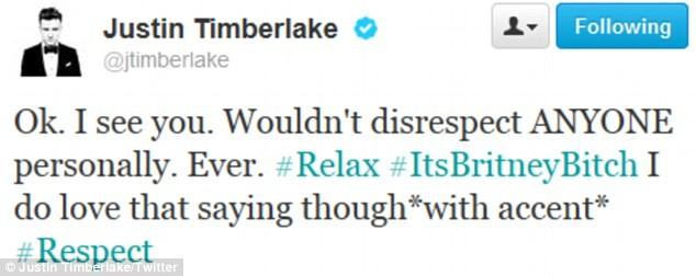 Justin Timberlake phủ nhận nói Britney Spears lẳng lơ ảnh 3