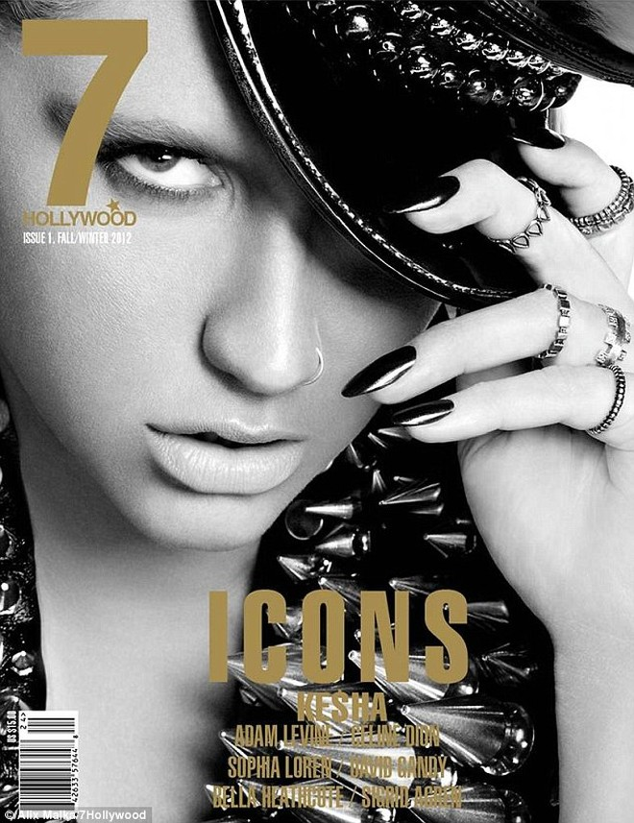 """Nữ ca sĩ Ke$ha """"la hét"""" trên tạp chí ảnh 7"""