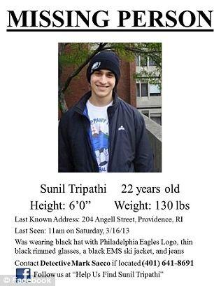 Sinh viên bị nhầm là nghi phạm vụ đánh bom Boston đã chết ảnh 1