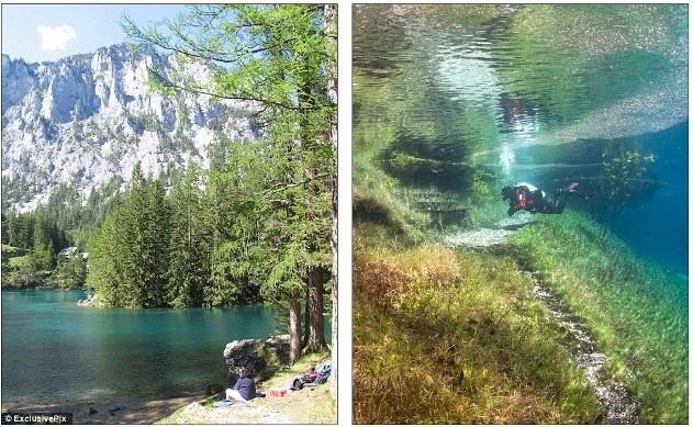 Thú vị: Công viên cứ vào mùa hè lại biến thành hồ nước ảnh 4