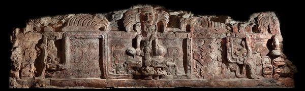 Phát hiện tuyệt tác khổng lồ của đế chế Maya ảnh 1