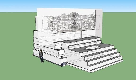 Phát hiện tuyệt tác khổng lồ của đế chế Maya ảnh 2