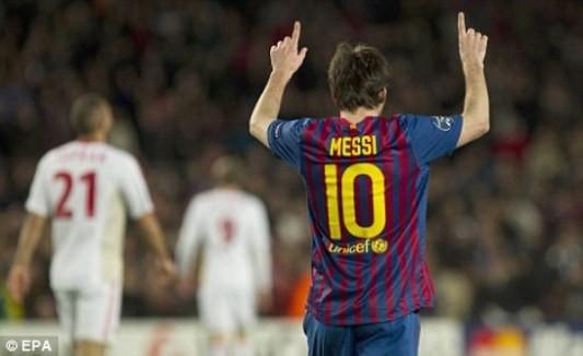 Messi-con số 10 hoàn hảo ảnh 1