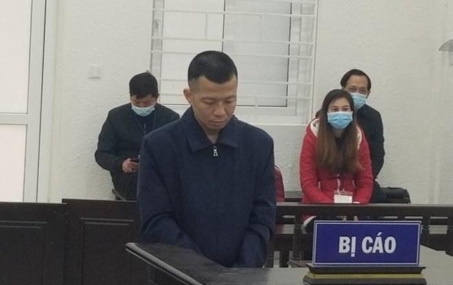 Bùi Đình Quý bị đưa ra xét xử tại phiên tòa.