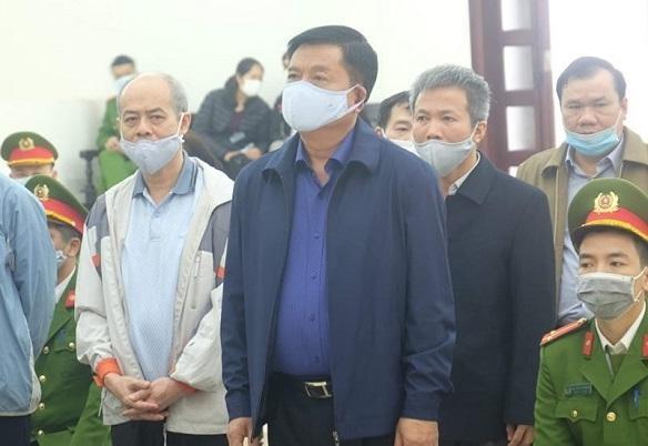 Bị cáo Đinh La Thăng và Trịnh Xuân Thanh tự bào chữa tại phiên tòa ảnh 1