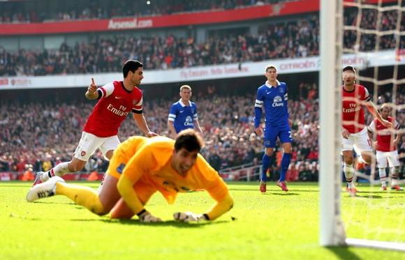 Howard nôn nóng được báo thù Arsenal ảnh 1