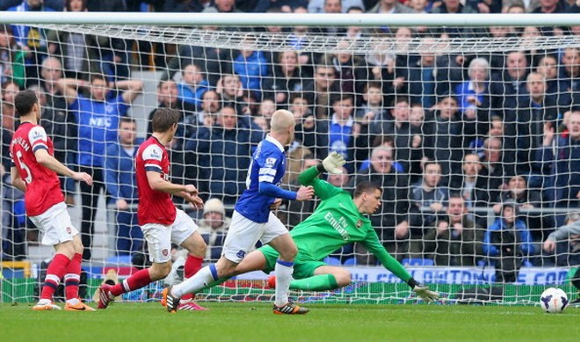 Everton 3–0 Arsenal: Pháo Thủ có nguy cơ bật khỏi top 4 ảnh 1