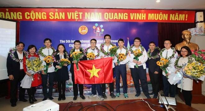 Hà Nội vào tốp 5 thành phố xuất sắc trong kỳ thi quốc tế IOM ảnh 1