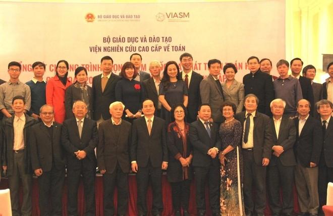 Chương trình trọng điểm quốc gia phát triển Toán thu hút hàng trăm nhà khoa học nước ngoài đến Việt Nam làm việc ảnh 1