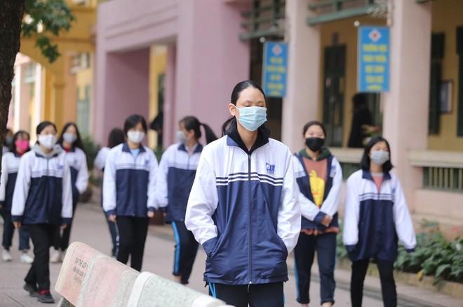 Hà Nội yêu cầu trường học chuẩn bị điều kiện đón học sinh trước ngày 1-3 ảnh 1