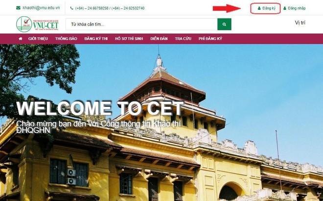 Mở cổng đăng ký thi đánh giá năng lực Đại học Quốc gia Hà Nội ảnh 1