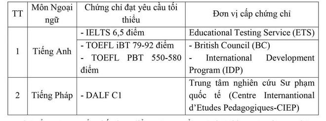 Có chứng chỉ ngoại ngữ, thí sinh được ưu tiên xét tuyển dù thấp hơn điểm chuẩn tới 3 điểm ảnh 2