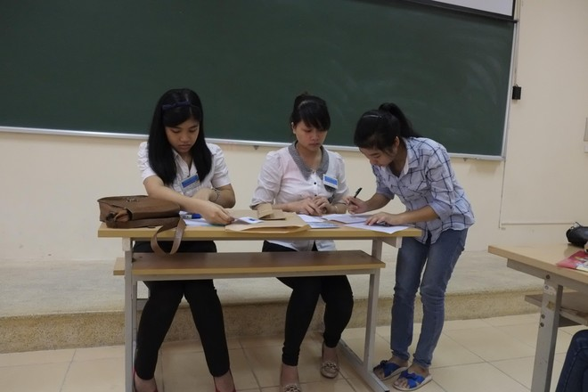 Công khai điểm thu nhận hồ sơ đăng ký dự thi tốt nghiệp THPT của thí sinh tự do tại Hà Nội ảnh 1