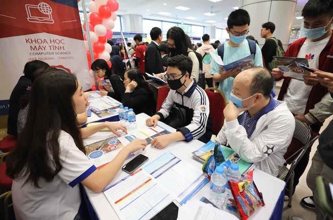Thí sinh đã có thể đăng nhập phần mềm tuyển sinh riêng của ĐH Kinh tế quốc dân ảnh 1