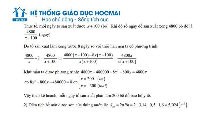 Đánh giá đề Toán thi lớp 10 Hà Nội: Phổ điểm sẽ từ 7-8 điểm ảnh 3