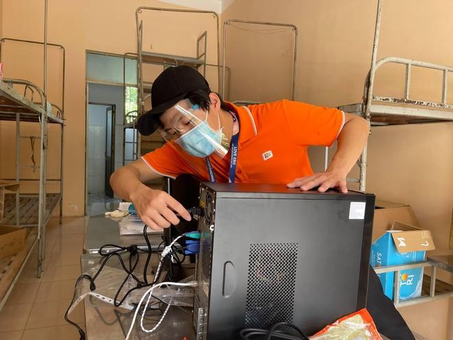 Cấp tốc hoàn thiện hạ tầng CNTT cho bệnh viện dã chiến điều trị Covid-19 tại TP.HCM ảnh 1
