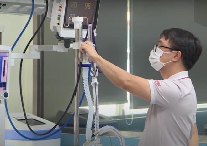 ĐH Bách khoa Hà Nội kịp thời đưa máy oxy dòng cao tách chiết từ không khí vào điều trị Covid-19 ảnh 1