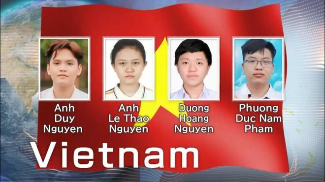 Việt Nam thắng lớn với 3 Huy chương Vàng Olympic Hóa quốc tế ảnh 1
