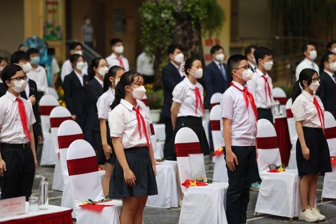Trường học Hà Nội sẵn sàng phương án đón học sinh trở lại ảnh 1