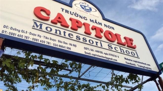 Xử phạt trường học tự ý mở cửa nhận học sinh ở Sóc Sơn 30 triệu đồng ảnh 1