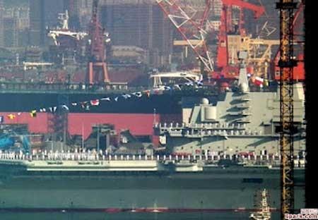 Tàu sân bay đầu tiên của Trung Quốc chuẩn bị đón khách ảnh 2
