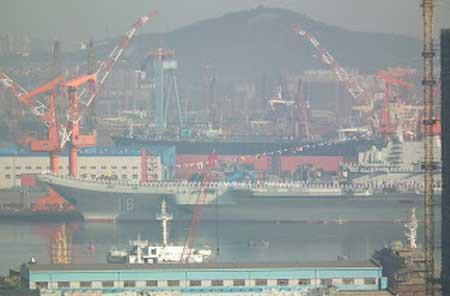Tàu sân bay đầu tiên của Trung Quốc chuẩn bị đón khách ảnh 4