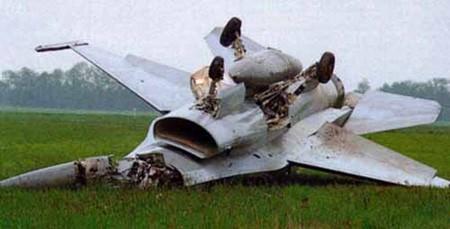 Ảnh tổng hợp các vụ F-16 gặp nạn ảnh 6
