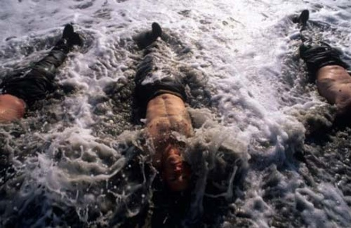 Xem biệt kích hải quân Mỹ khổ luyện