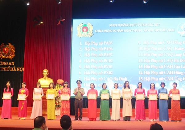 Phụ nữ Công an Thủ đô đã góp phần vào chiến công chung của Công an thành phố ảnh 5