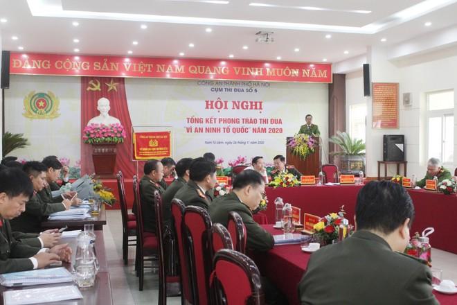Đi đầu trong phong trào thi đua của Công an thành phố Hà Nội ảnh 3