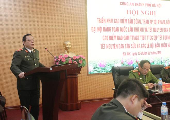 Từ 8h ngày 15-12, Công an Hà Nội đồng loạt triển khai cao điểm tấn công trấn áp tội phạm bảo vệ Tết Nguyên đán ảnh 1