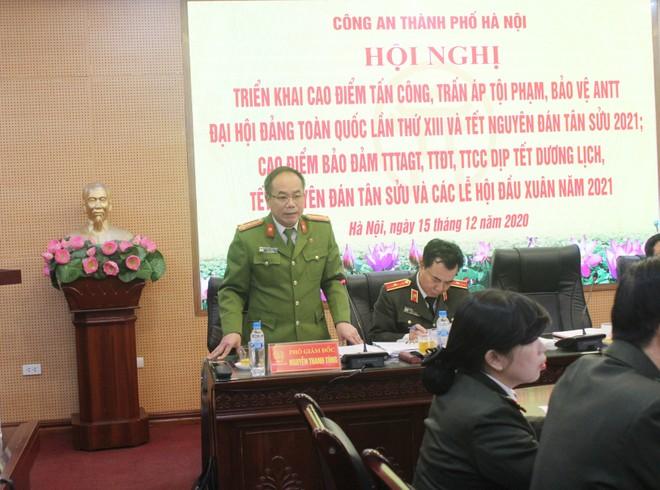 Từ 8h ngày 15-12, Công an Hà Nội đồng loạt triển khai cao điểm tấn công trấn áp tội phạm bảo vệ Tết Nguyên đán ảnh 3