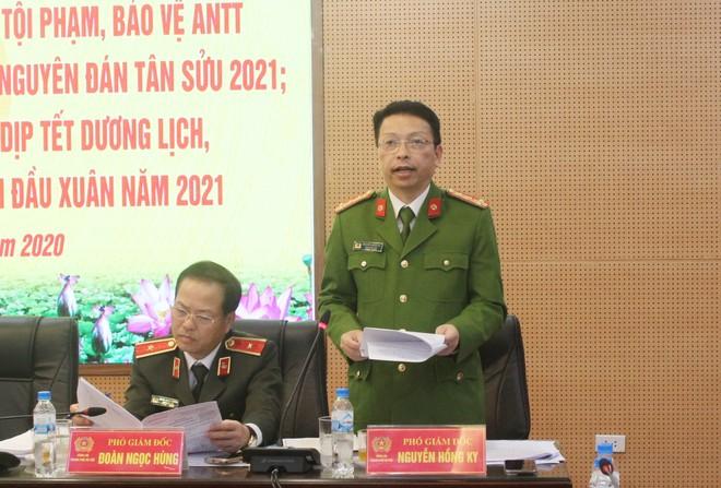 Từ 8h ngày 15-12, Công an Hà Nội đồng loạt triển khai cao điểm tấn công trấn áp tội phạm bảo vệ Tết Nguyên đán ảnh 4