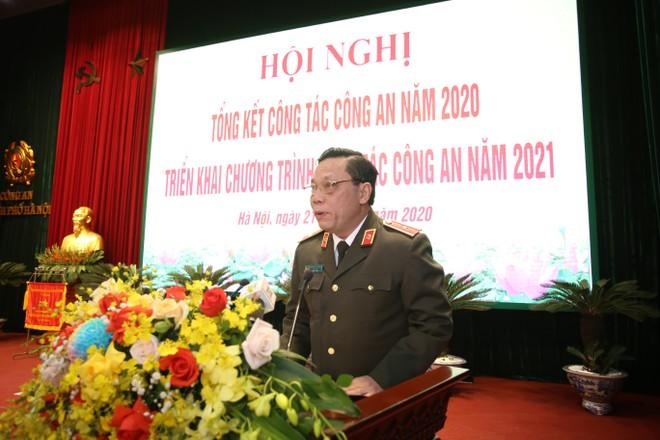 Công an Hà Nội khai mạc Hội nghị công tác năm 2021 ảnh 1
