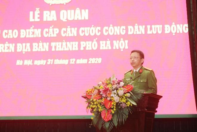 Công an Hà Nội xuất quân triển khai cấp căn cước công dân lưu động ảnh 5