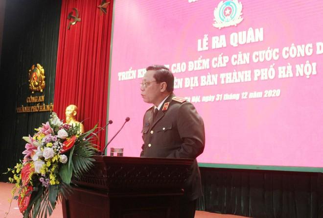 Công an Hà Nội xuất quân triển khai cấp căn cước công dân lưu động ảnh 2