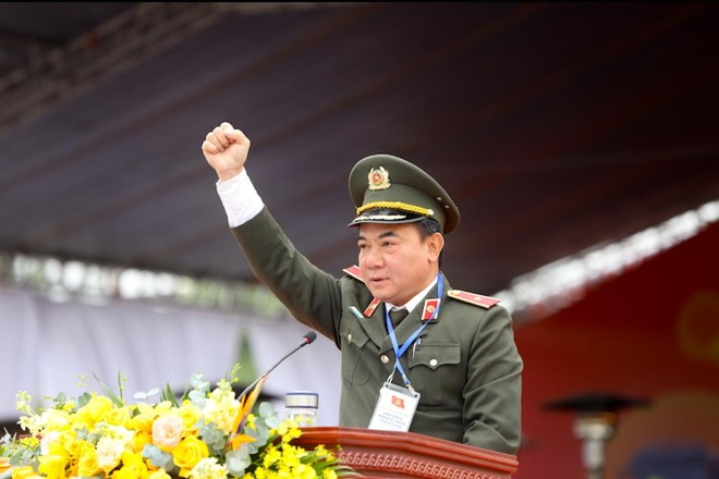 Xuất quân bảo đảm an ninh, an toàn tuyệt đối Đại hội Đảng toàn quốc lần thứ XIII ảnh 4