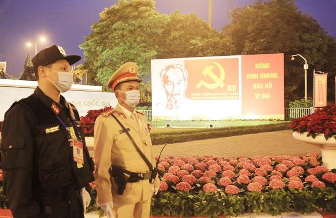 Cảnh sát cơ động Hà Nội huy động tối đa lực lượng bảo vệ Đại hội Đảng ảnh 1