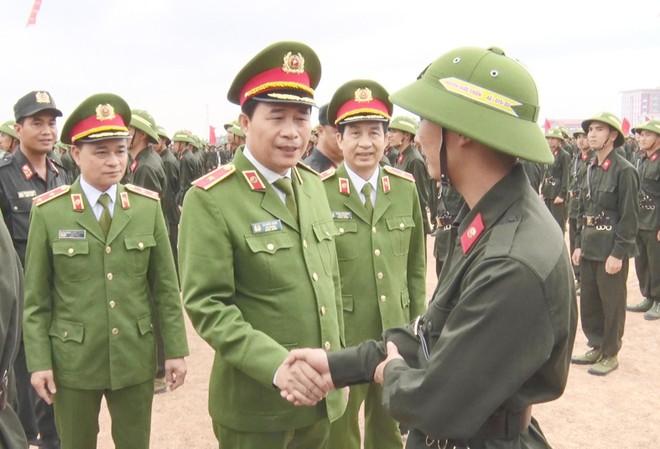 Huấn luyện 12.000 tân binh tại 23 đơn vị trực thuộc Bộ Tư lệnh Cảnh sát cơ động ảnh 1