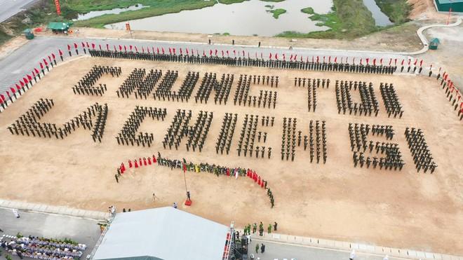 Huấn luyện 12.000 tân binh tại 23 đơn vị trực thuộc Bộ Tư lệnh Cảnh sát cơ động ảnh 3