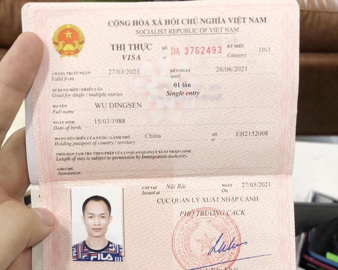 Chân dung kẻ tổ chức cho người ở lại trái phép tại Việt Nam ảnh 2