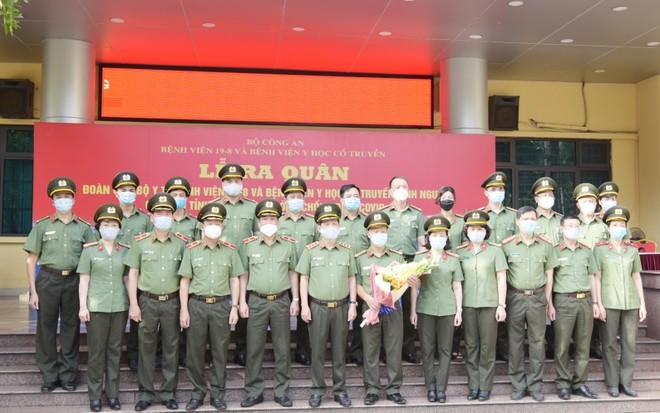 Thêm 166 y, bác sĩ Công an nhân dân chi viện Bắc Giang, điều hành Bệnh viện dã chiến số 2 ảnh 2